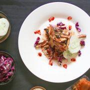 Vegan Kimchi Tacos from Vegan Tacos by Jason Wyrick