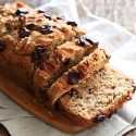One Bowl Apple Banana Bread