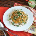 Rotini with Creamy Pumpkin Sauce and Walnuts