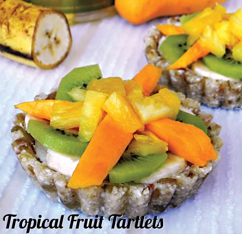 Tropical Fruit Tartlets