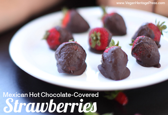 Mexican Hot Chocolate Covered Strawberries 2