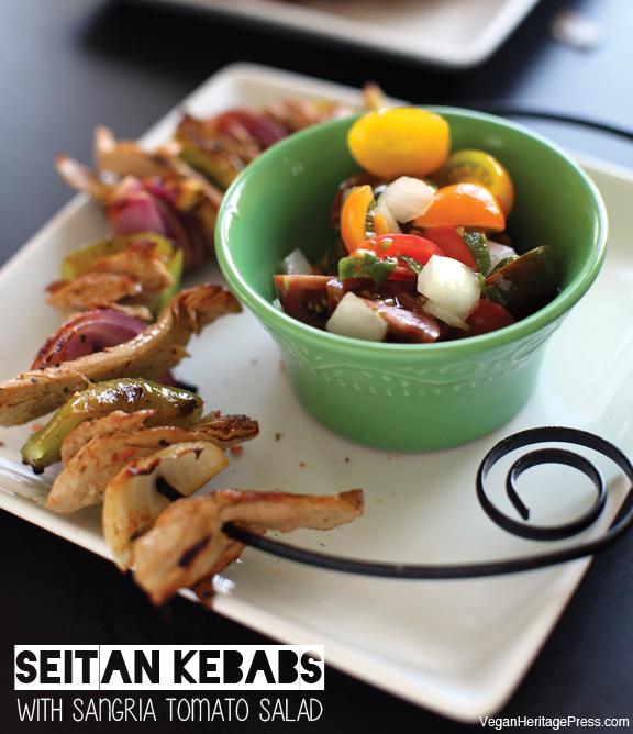 Seitan Kebabs