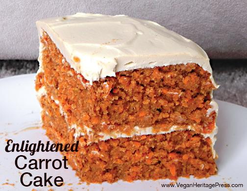 Enlightened Carrot Cake