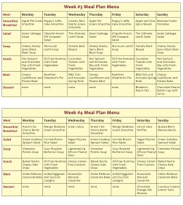 The Abundance Diet Meal Plan