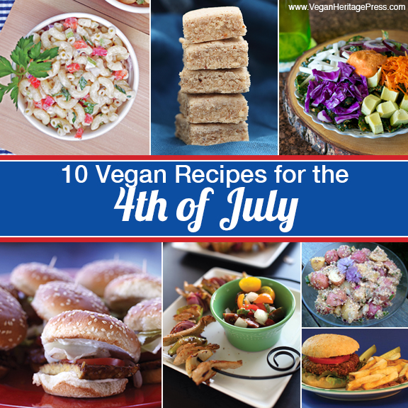 10 Vegan Recipes for the 4th of July from Vegan Heritage Press