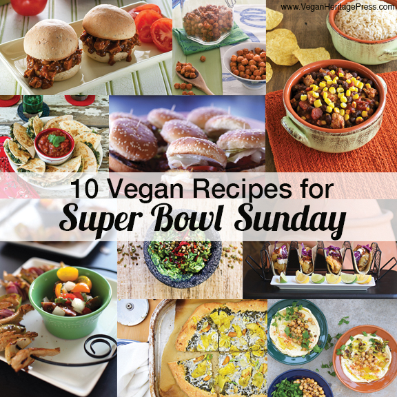 10 Vegan Recipes for Super Bowl Sunday