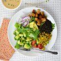 Vegan Chef's Salad Bowl